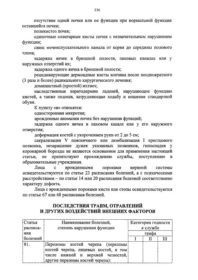 Инструкцию о порядке проведения экспертизы
