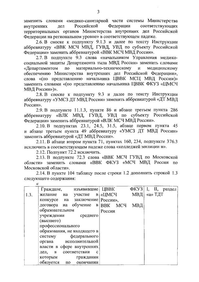 Приказ министерства внутренних дел российской федерации от 14 июля.